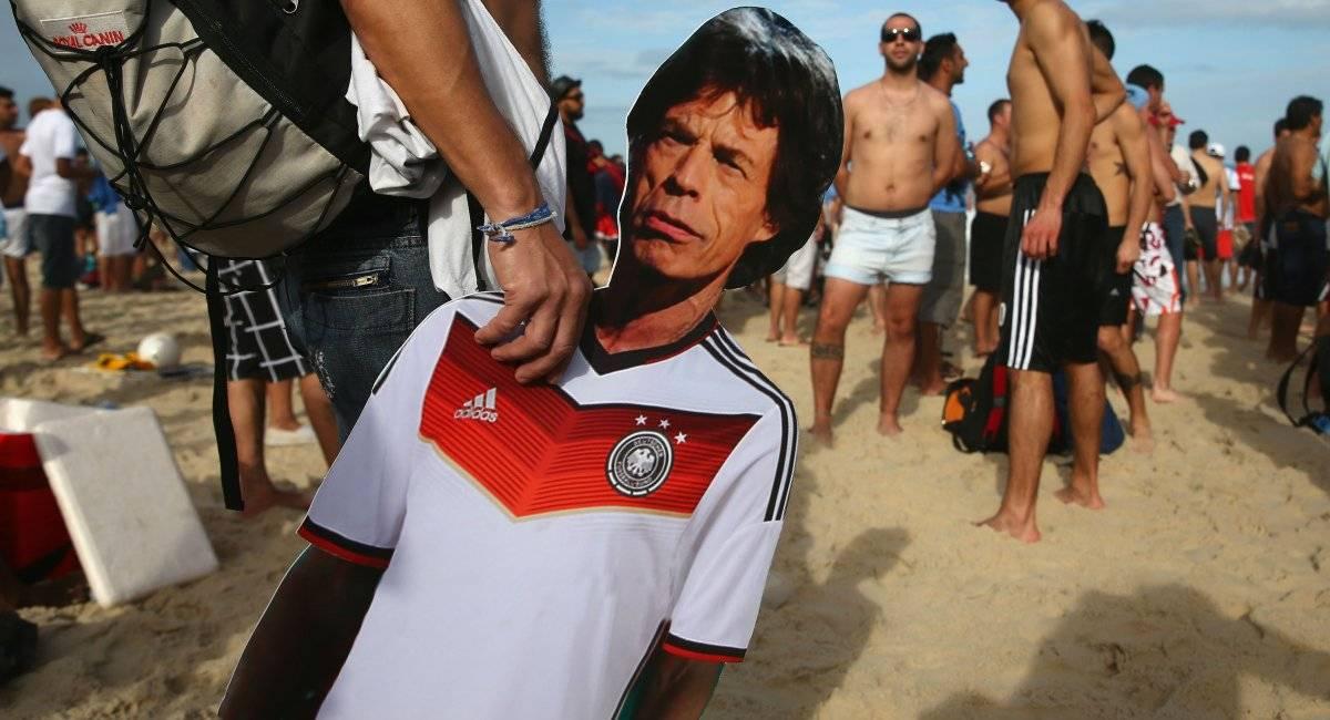 Mick Jagger pé-frio