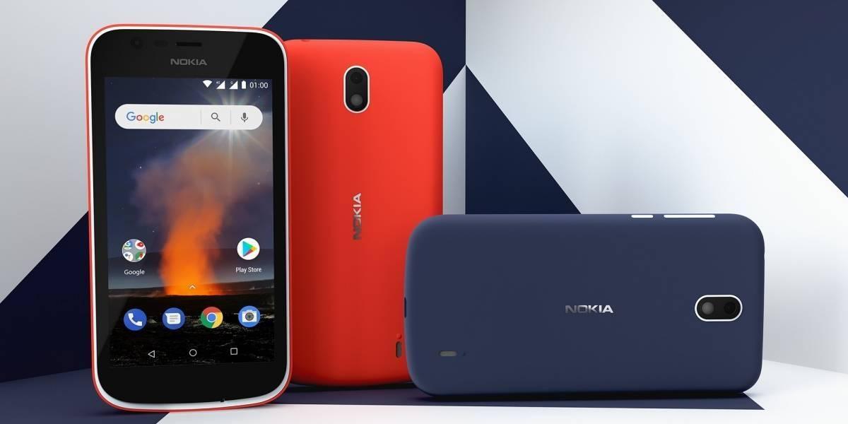 Más vale tarde que nunca: Movistar trae a Chile los Nokia 1 y Nokia 6.1