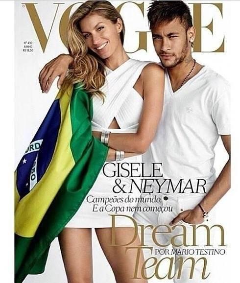 neymar y giselle bundchen vogue