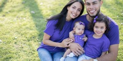 Familia embajadora de la Marcha de los bebés 2018
