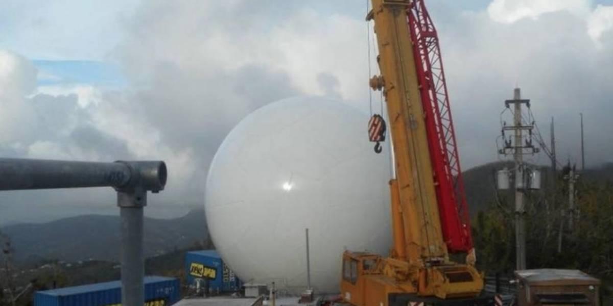 Ya está funcionando el radar del Servicio Nacional de Meteorología