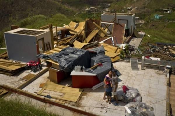 Daños del huracán María en Puerto Rico