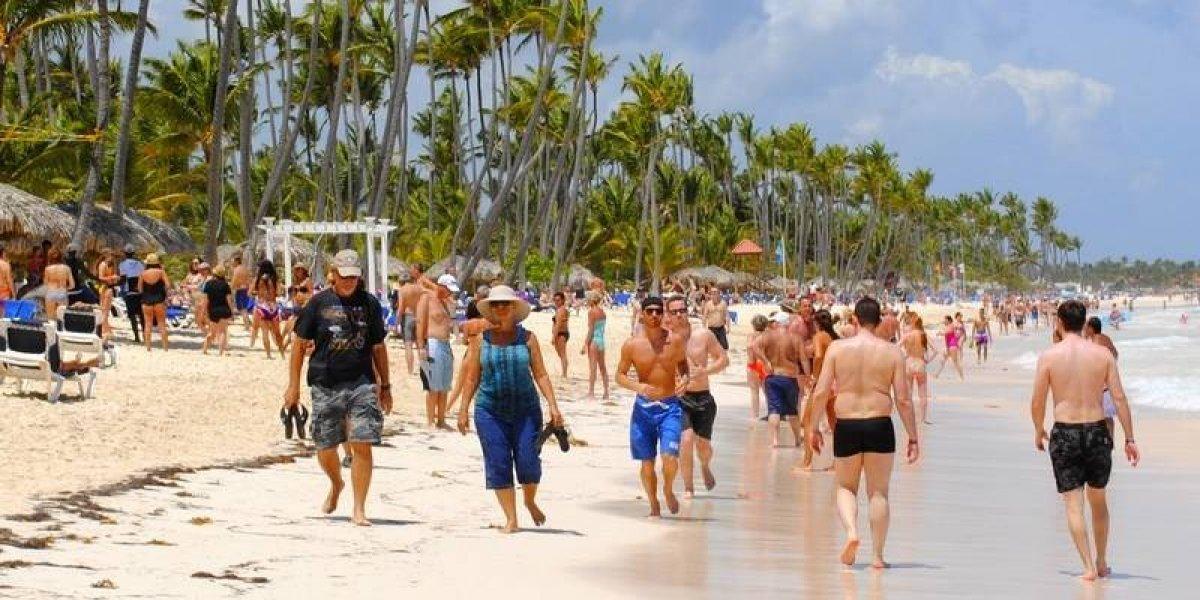 Llegada de turistas a RD aumenta 5,9 % en primeros 5 meses