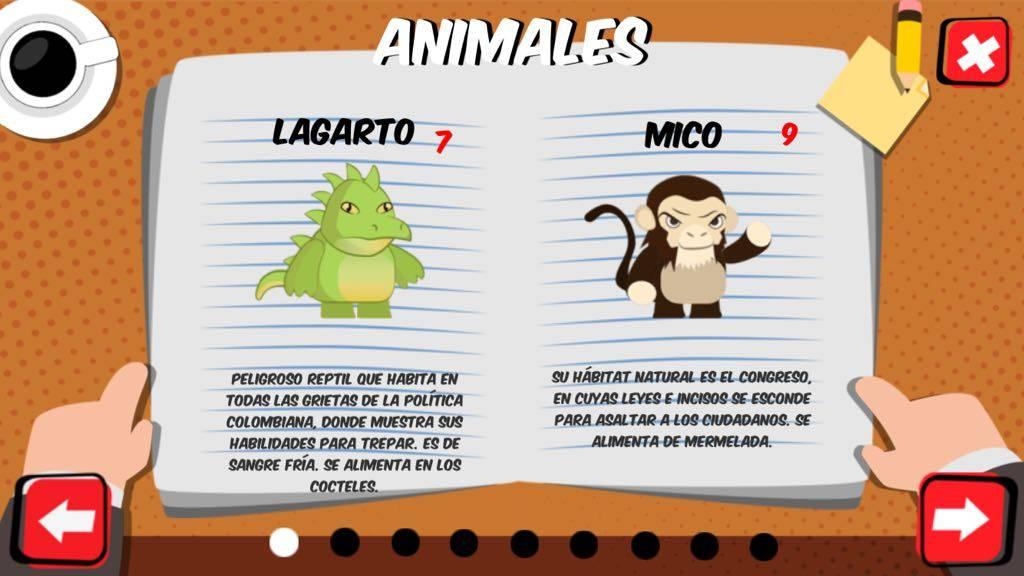 El periodista y youtuber Daniel Samper acaba de lanzar un videojuego móvil en el que se se burla de la política colombiana