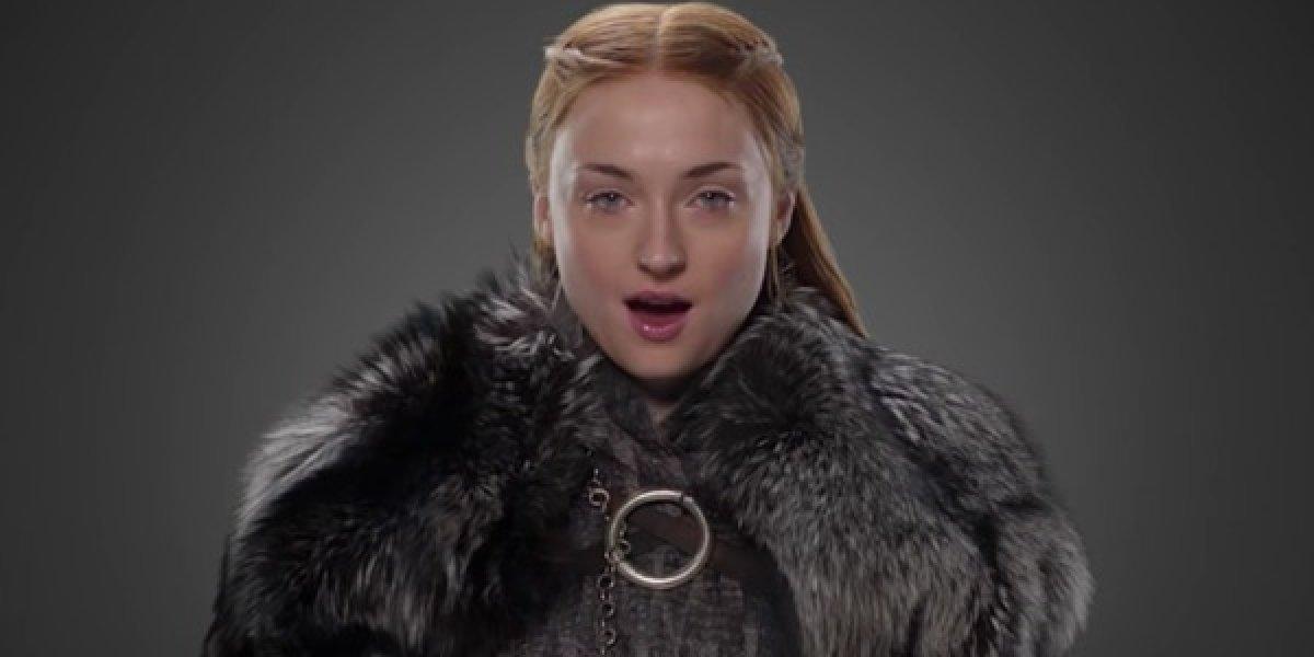 Game of Thrones: Sophie Turner pode ter tatuado um spoiler sobre o futuro de Sansa Stark