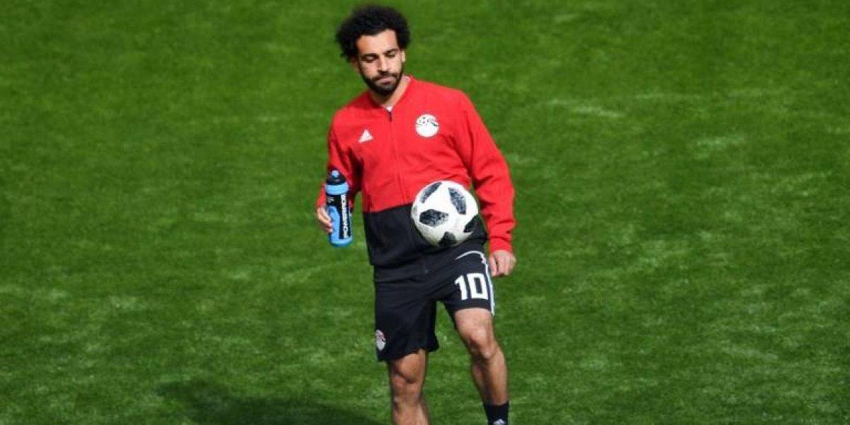 Mohamed Salah se queda en la banca en el arranque del juego Egipto-Uruguay