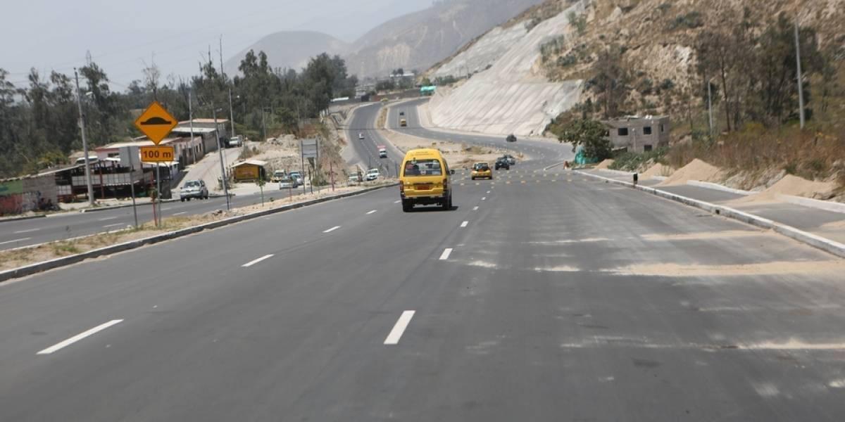 Quito: Se suman 2,7 kilómetros a la nueva avenida de la Simón Bolívar