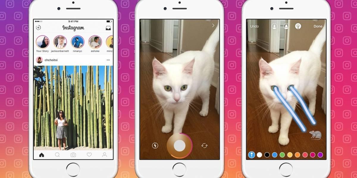 Instagram no avisará si hacés captura de pantalla a una historia