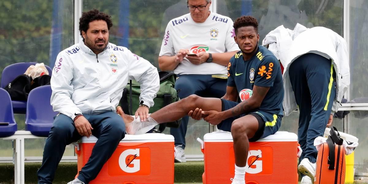 Fred treina e viaja, mas ainda não tem presença garantida no banco do Brasil