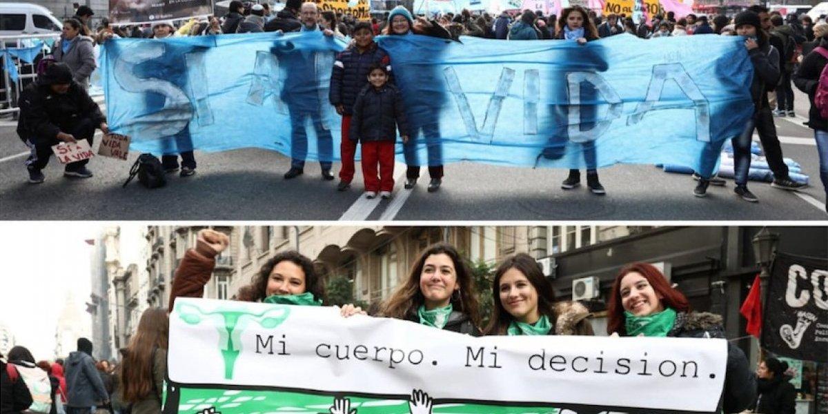 Frente a frente: Los dos discursos a favor y en contra del aborto libre que dividen Argentina