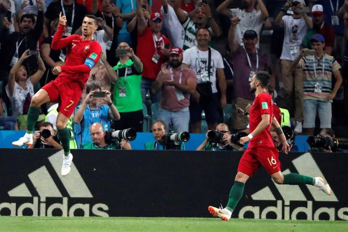 Celebración de gol de Cristiano Ronaldo EFE