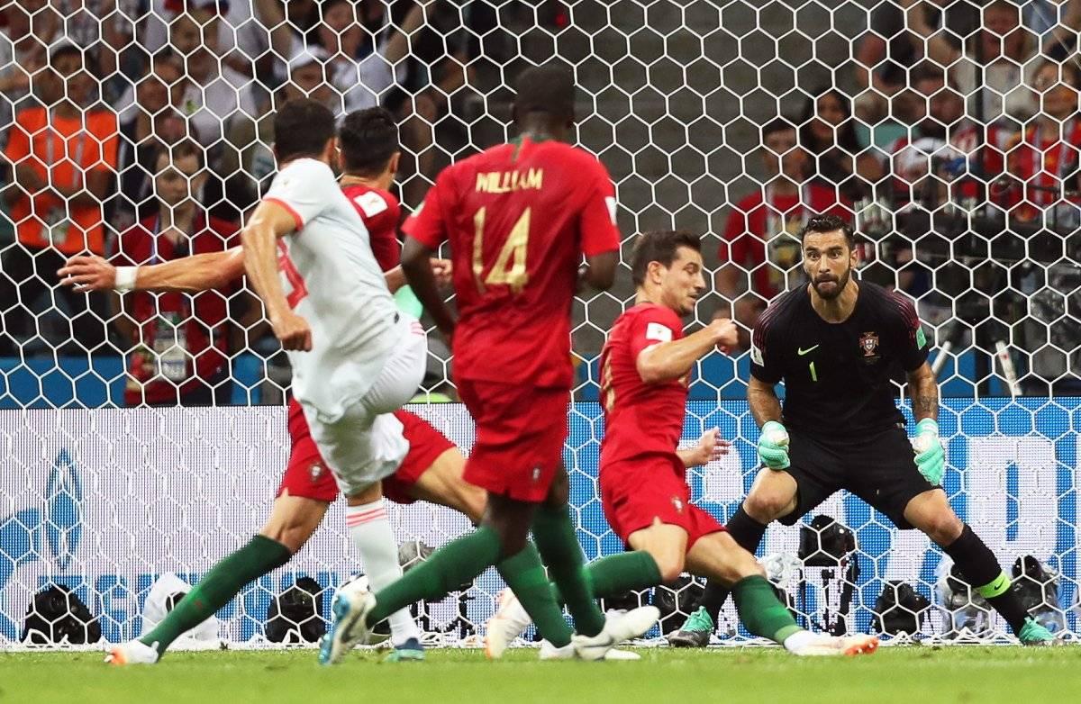 Así fue el gol de Diego Costa de España EFE