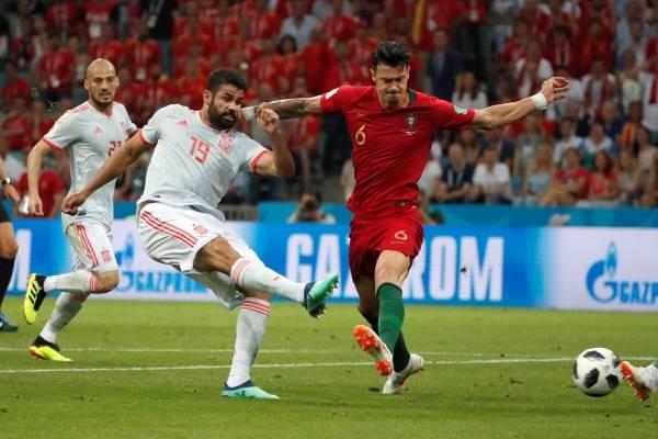 Gol de Diego Costa a Portugal