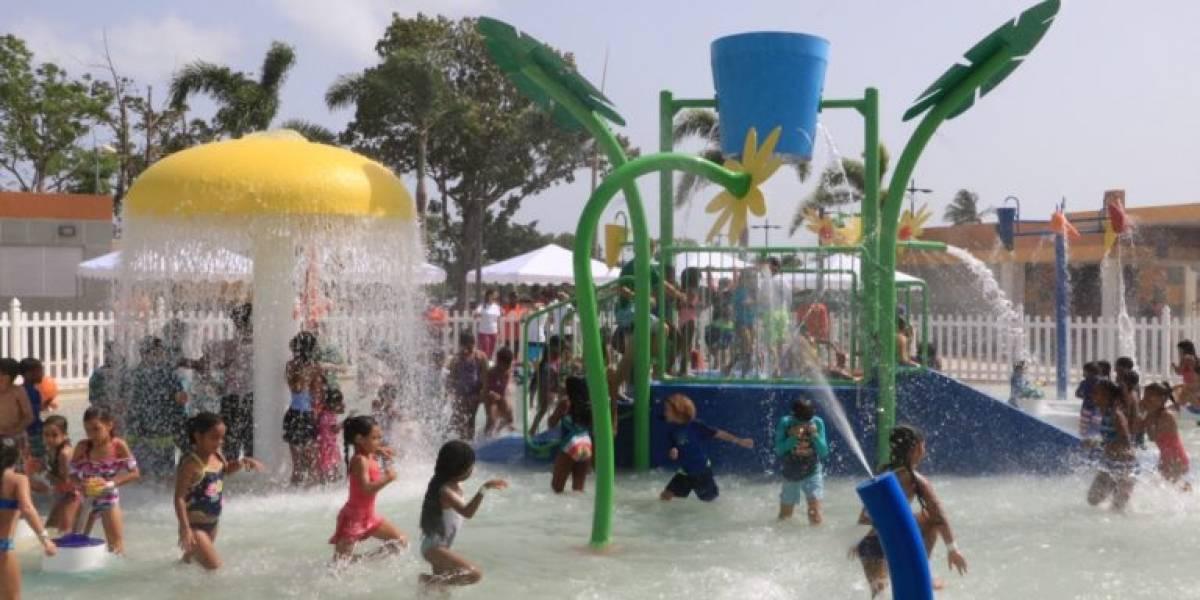 Reabre Parque Aquasol en Carolina