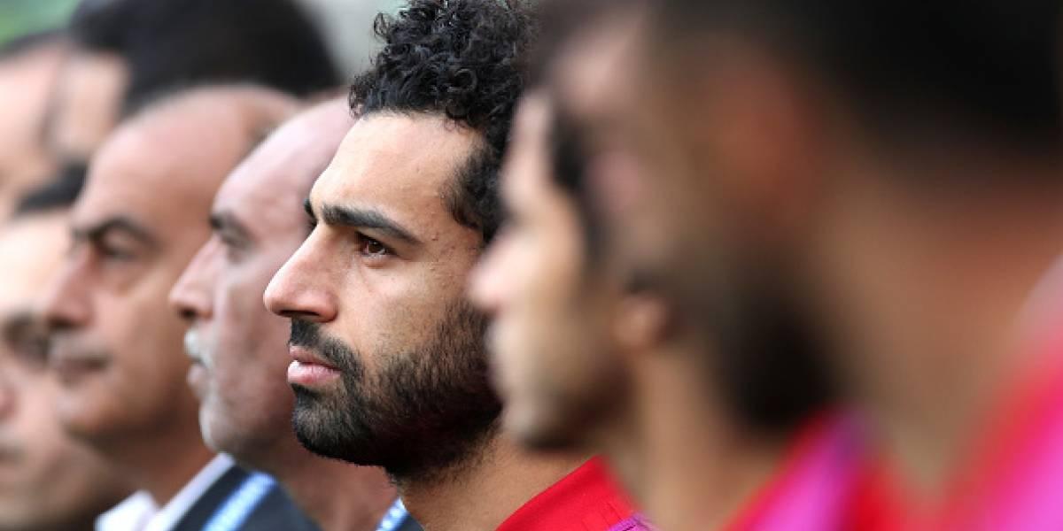 Uruguay vs Egipto: La triste reacción de Salah tras el gol de Uruguay