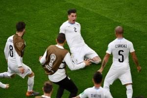 Rusia 2018: Uruguay se impone ante Egipto en la agonía del partido