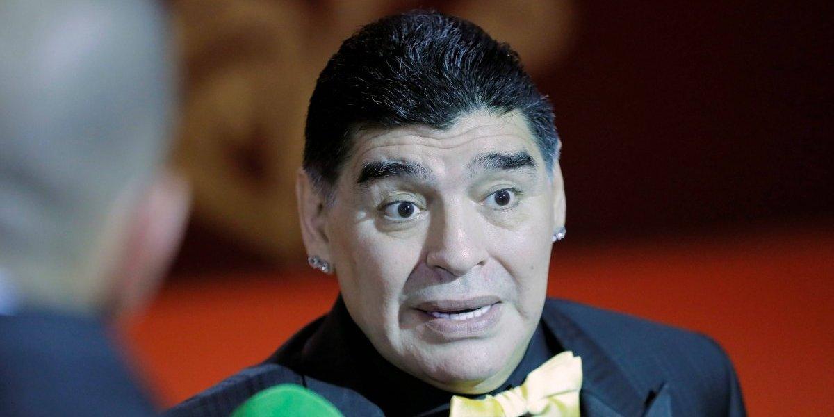 Las imprudentes palabras de Maradona que indignaron a todo México