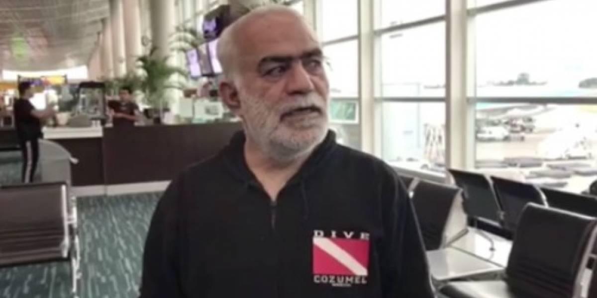 Nizan Chalak ciudadano que vivió en aeropuerto de Guayaquil salió rumbo Líbano