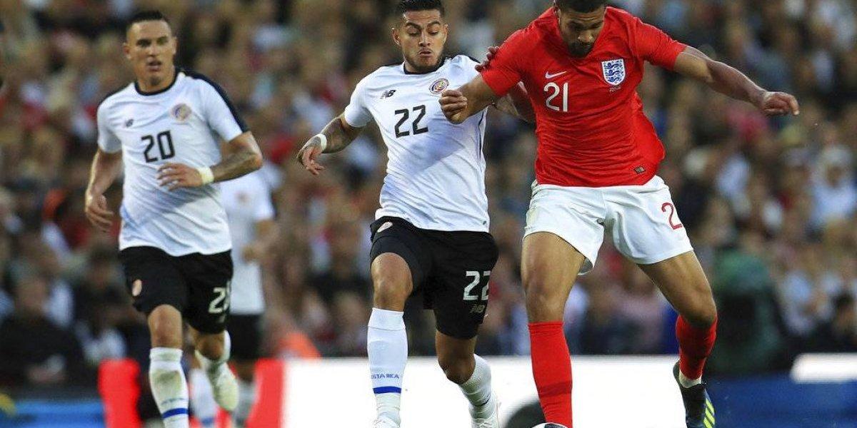 Este jugador de Costa Rica se perderá el Mundial Rusia 2018