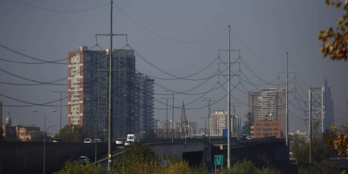 Este lunes hay preemergencia ambiental en Santiago
