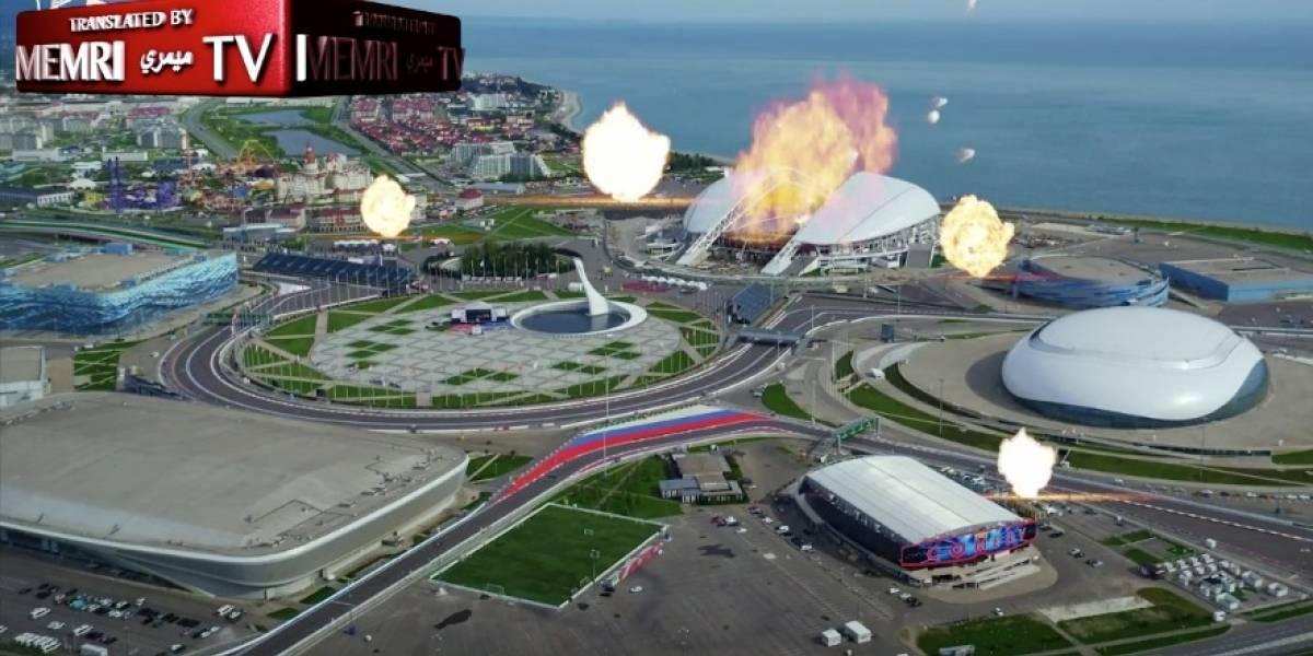 Estadio Sochi en llamas: ISIS amenaza con atacar el Mundial de Rusia en un nuevo video