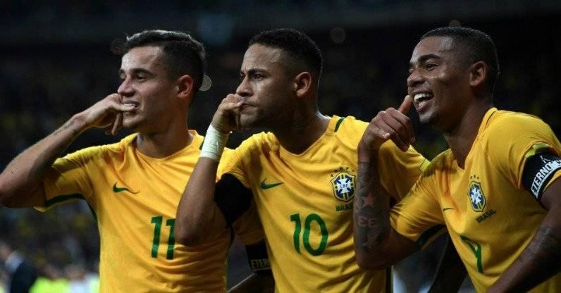 Brasil vs Suiza: EN VIVO ONLINE Rusia 2018, horarios, alineaciones, canales de transmisión Getty Images