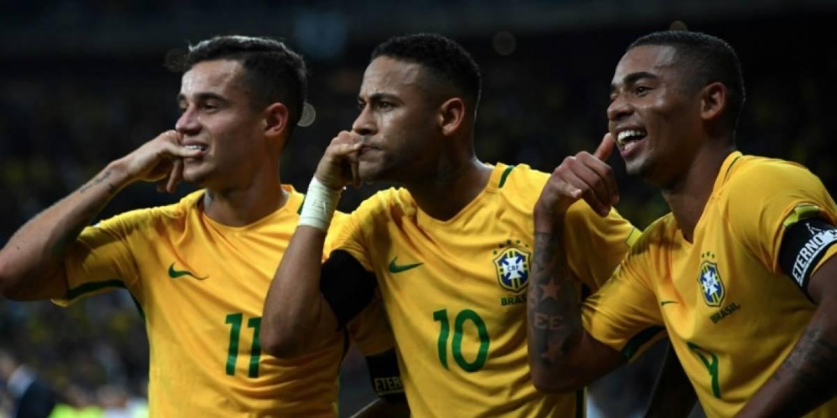 EN VIVO ONLINE Rusia 2018: Brasil empata con Suiza