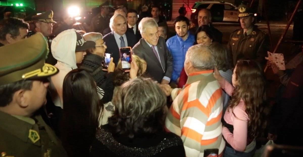 Piñera en La Pintana