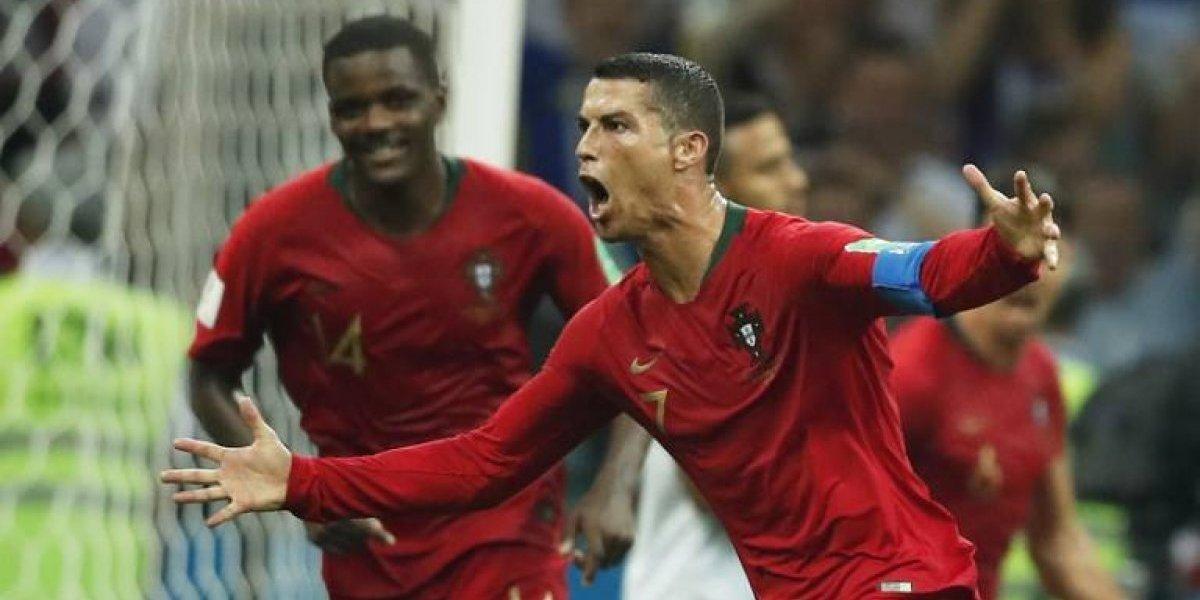 Cristiano marca un triplete y le arrebata la victoria a España en el mejor juego del Mundial