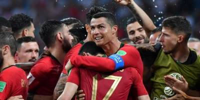 Gesto Cristiano Ronaldo