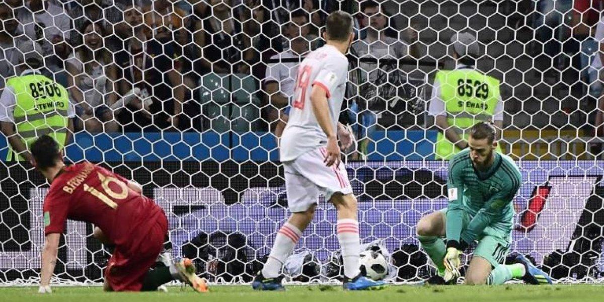 "La ""cantada"" de David de Gea contra Portugal revive un amargo momento para España"