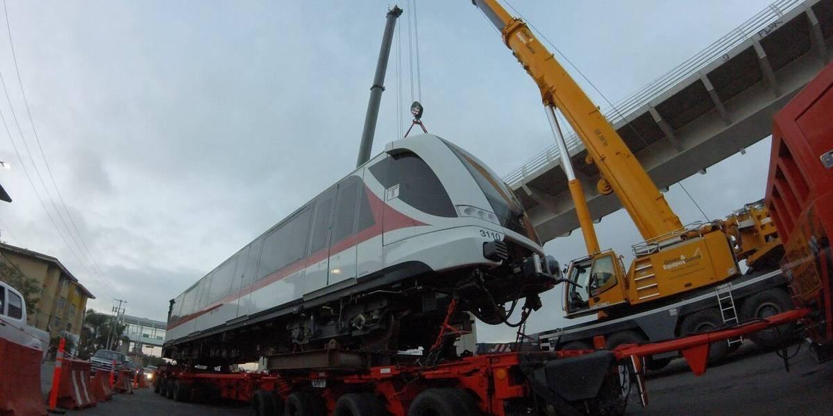 Inician pruebas con trenes para la operación de la Línea 3