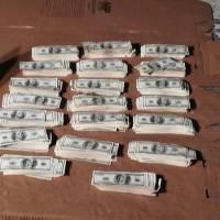 Localizan dólares dentro de vehículo en la ruta Interamericana
