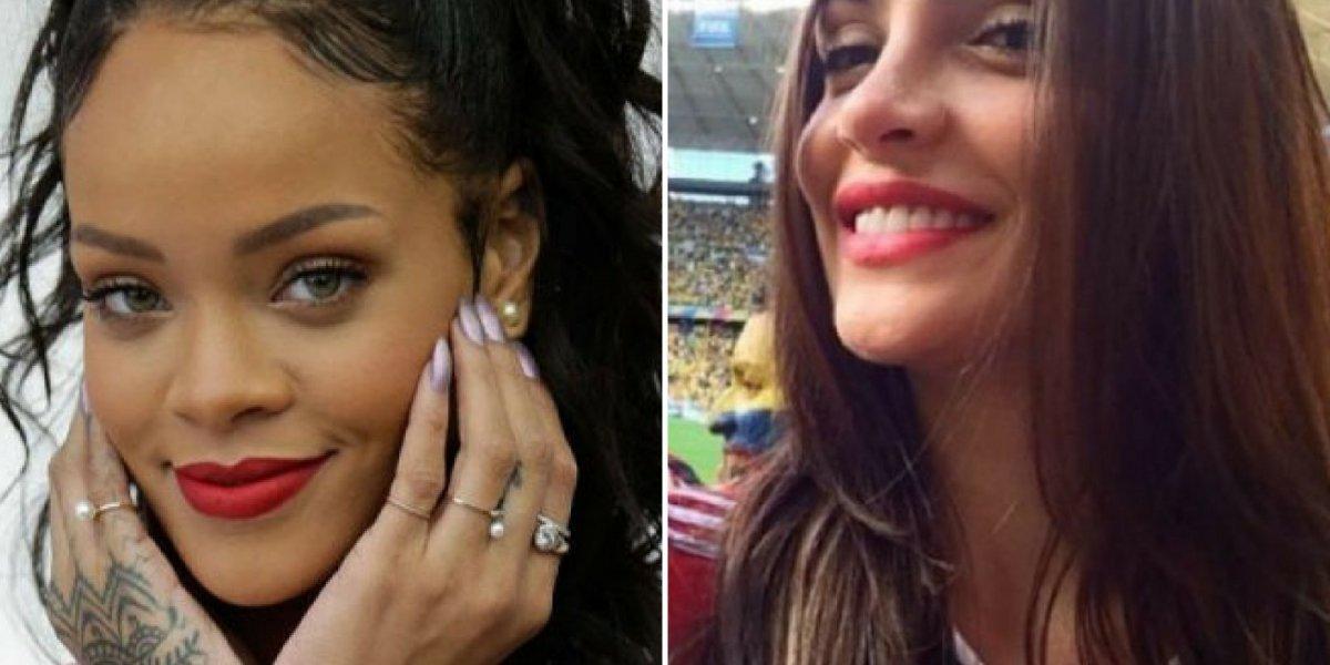 Copa do Mundo e Rihanna: cantora não sabe, mas mudou a vida de uma modelo graças ao Mundial de 2014