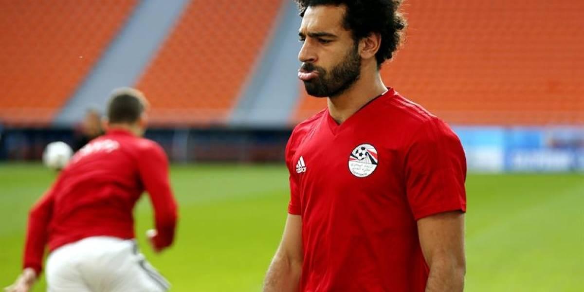 Egipto vs Uruguay en Rusia 2018: Mohamed Salah no juega por lesión