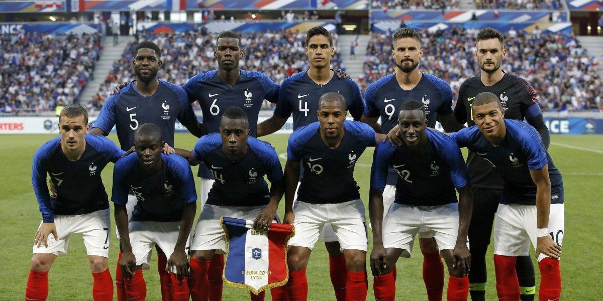 ¡Candidatazo! Francia se estrena en Rusia 2018, contra Australia
