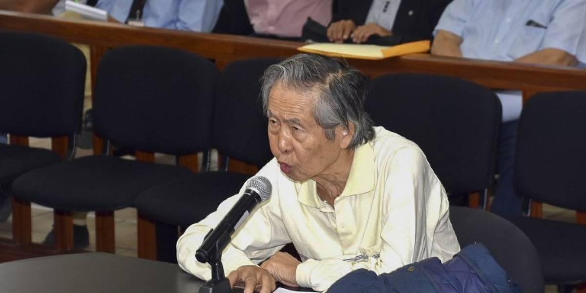 Corte IDH evita orden para que Fujimori regrese a prisión por matanzas