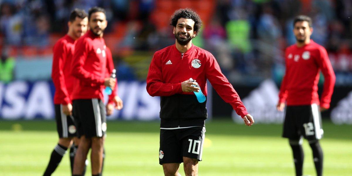 Cumpleaños no feliz: Salah no se recuperó del encontrón con Ramos y quedó fuera del debut de Egipto