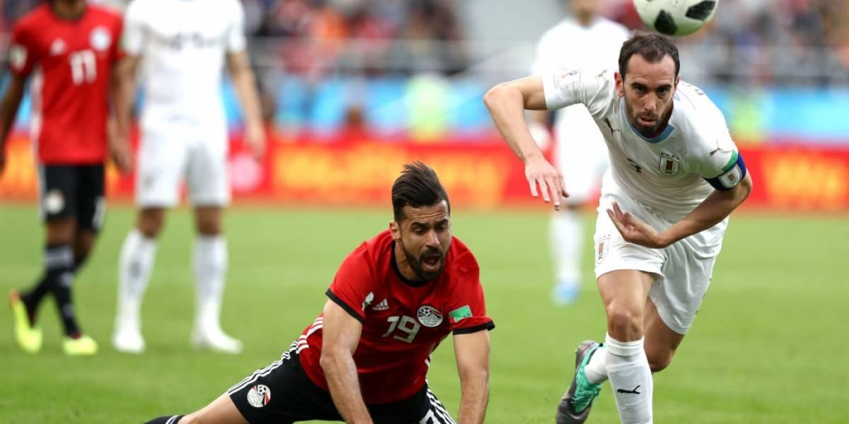 Así vivimos la agónica victoria de Uruguay sobre Egipto en su estreno en el Mundial de Rusia 2018