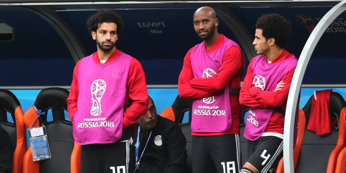 VIDEO: La reacción de Mohamed Salah al ver el gol de Uruguay