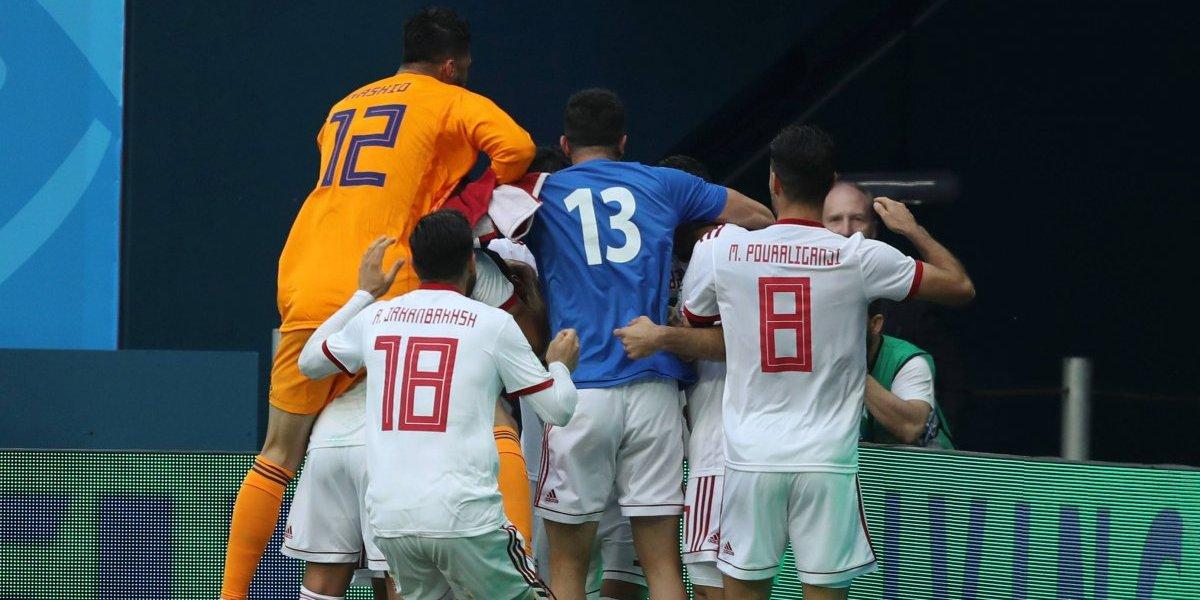 Mundial Rusia 2018: Irán sorprendió a todos y celebró una victoria gracias a un autogol de Marruecos en el último minuto