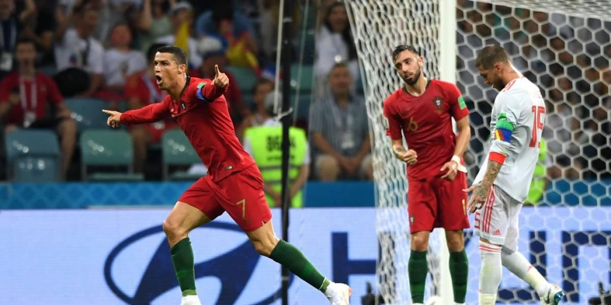 Mundial de Rusia: Cristiano Ronaldo demostró que es una máquina y salvó a Portugal ante España en un partidazo