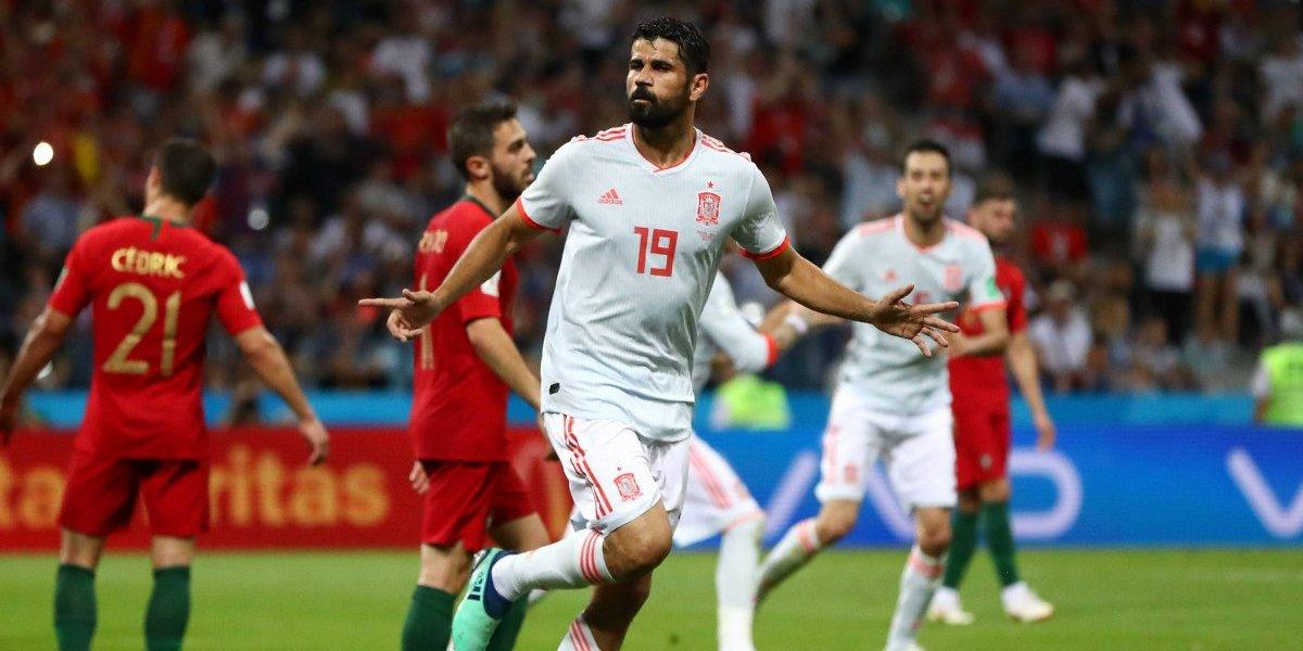 Así vivimos el vibrante empate entre España y Portugal en Rusia 2018