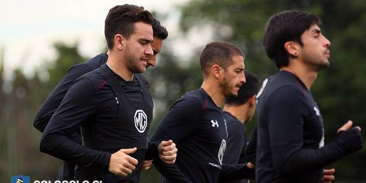 """Zaldivia tiene fe en Colo Colo y advierte a Corinthians: """"Nos va a encontrar muy preparados"""""""