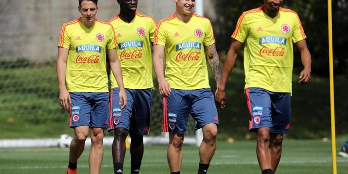 James y Barrios vuelven a los entrenamientos de la Selección Colombia