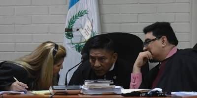audiencia del caso Lago de Amatitlán