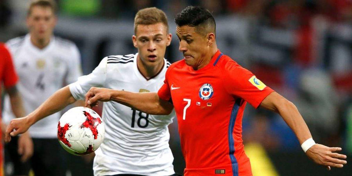 """Kimmich recordó la final de la Confederaciones: """"Chile era mejor, ganamos con un gol de suerte"""""""
