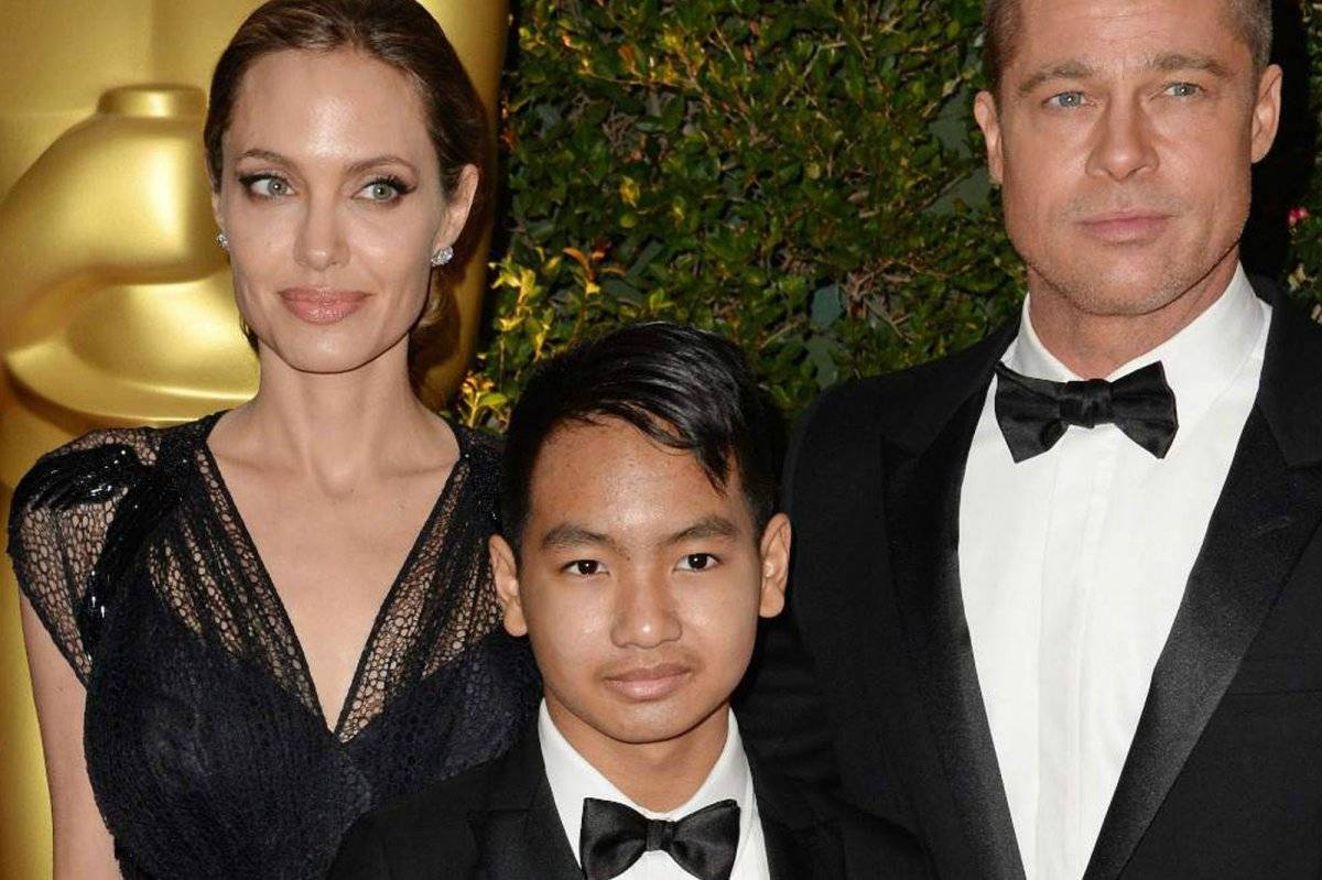 Maddox Angelina Jolie Brad Pitt