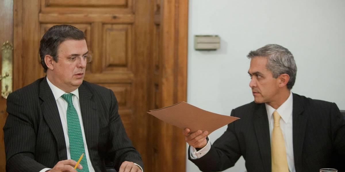 Rioboó también benefició a Ebrard y Mancera