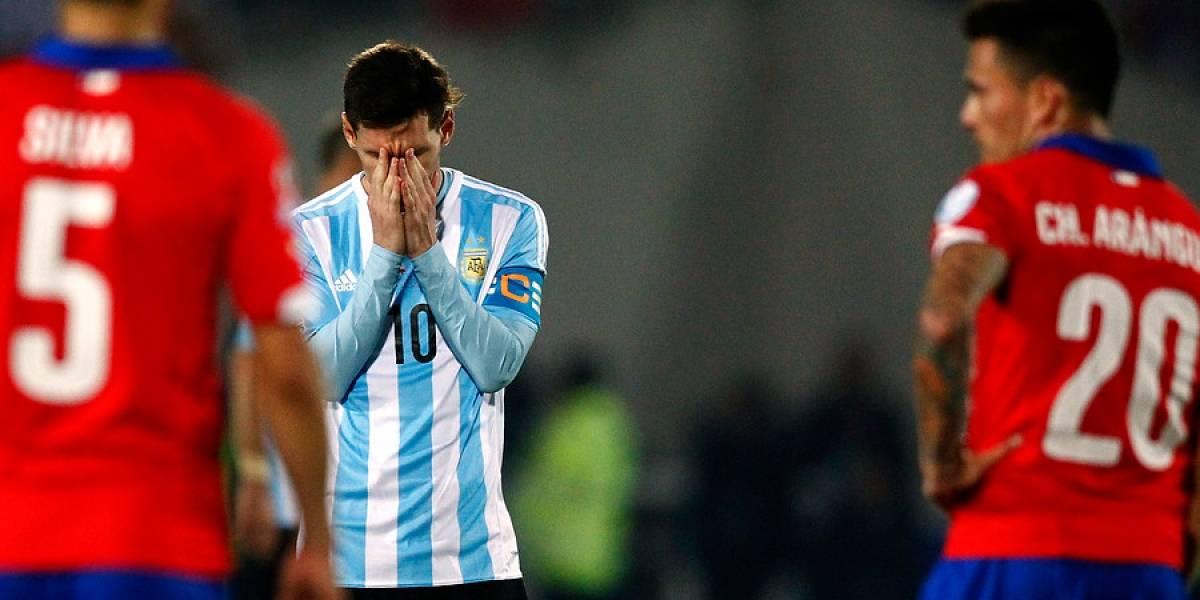 """Leyenda argentina le mete más """"presión"""" a Messi por culpa de Chile"""